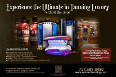 Luxury Tanning Salon mailer