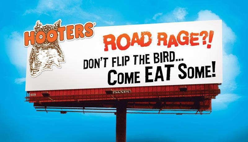Hooters Billboard