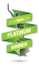 Platinum MarCom Award