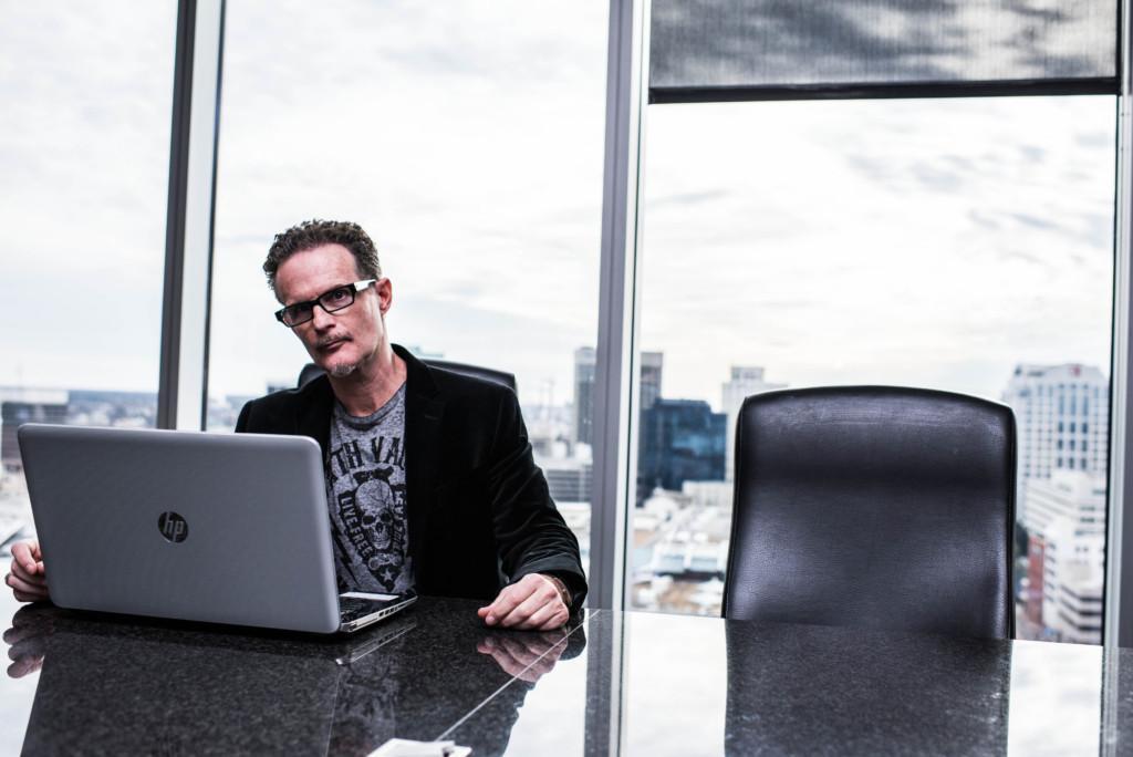 Kevin Neff in boardroom