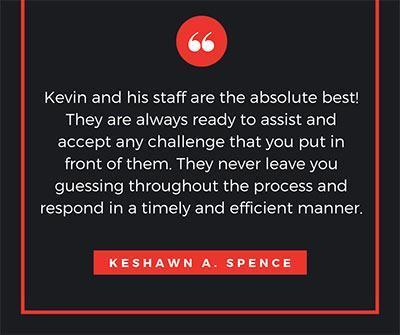 Keshawn Spence Testimonial